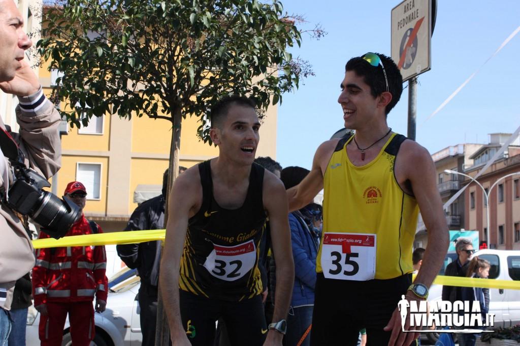 Cassino Campionato Italiano 20Km (252) Andrea Agrusti Lorenzo Dessi