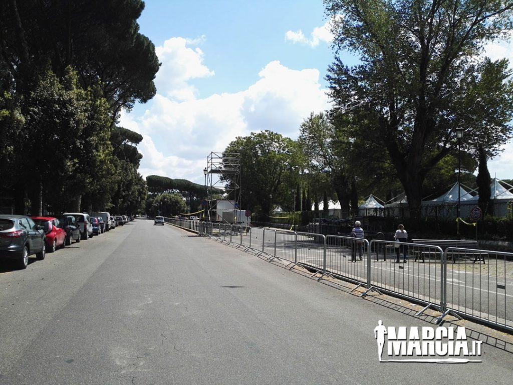 Foto percorso Campionati Mondiali di marcia 2
