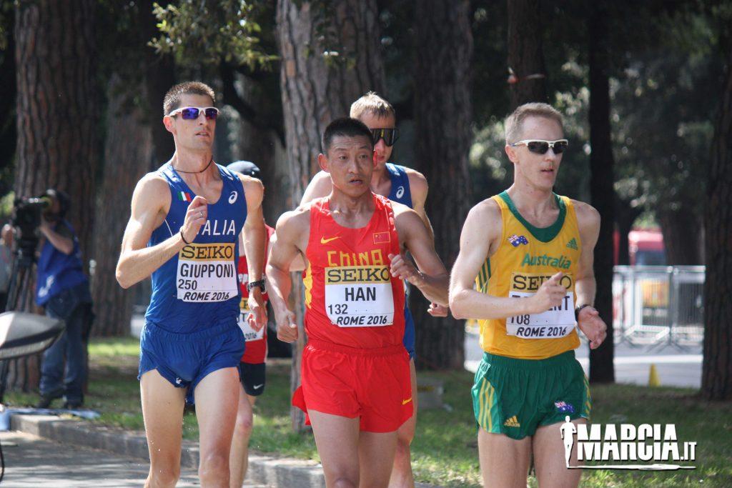 Marcia 50Km la gara più lunga delle Olimpiadi
