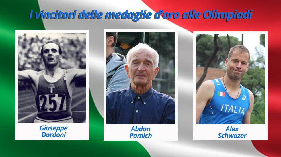 Medaglie-d'oro-italiane-alle-Olimpiadi