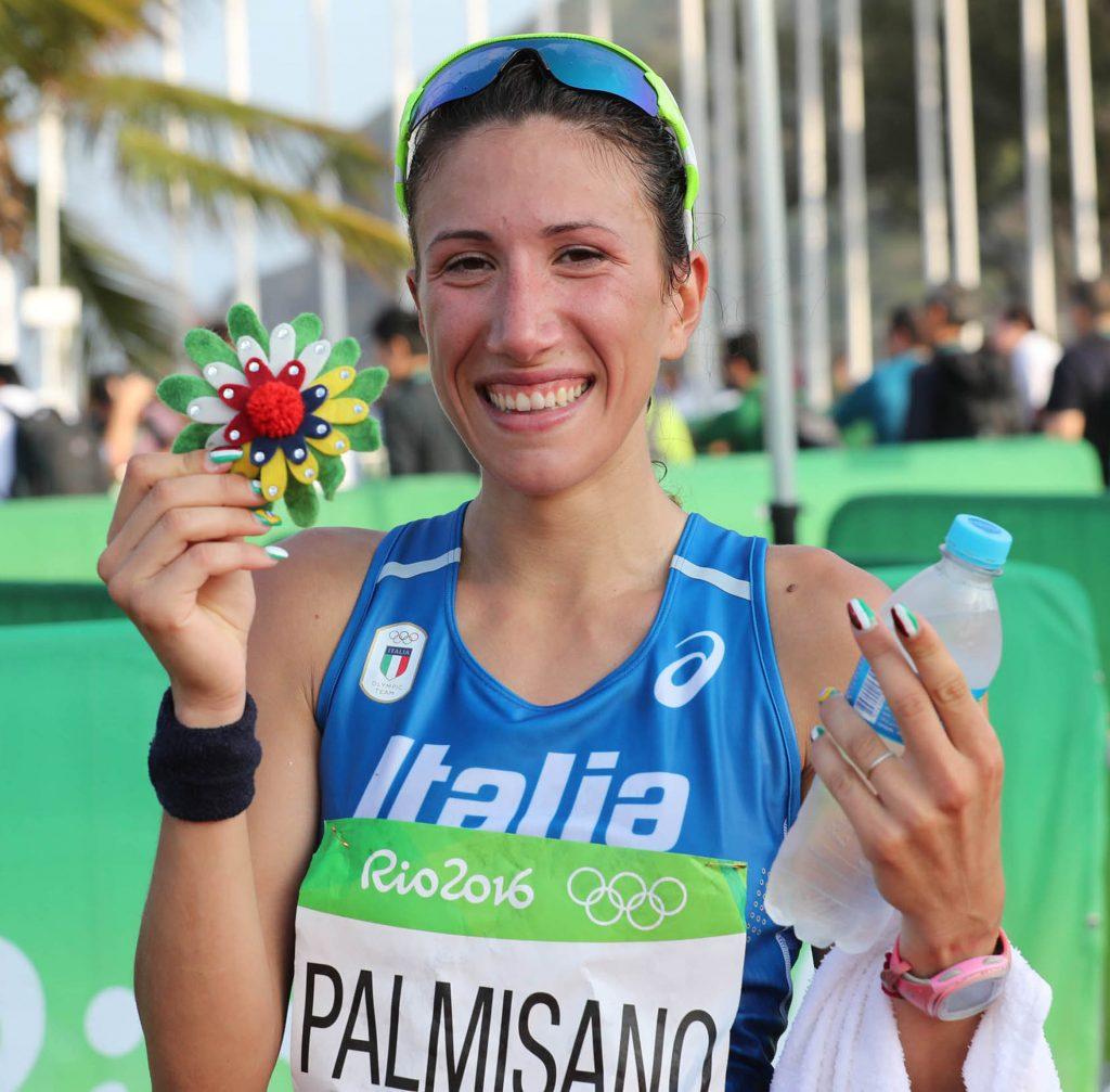 Olimpiadi Rio 2016 Marcia 20Km Donne Palmisano