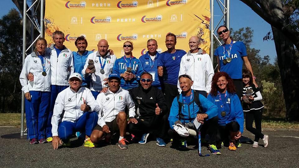 Campionati Mondiali Master Perth 2016 Marcia 10Km