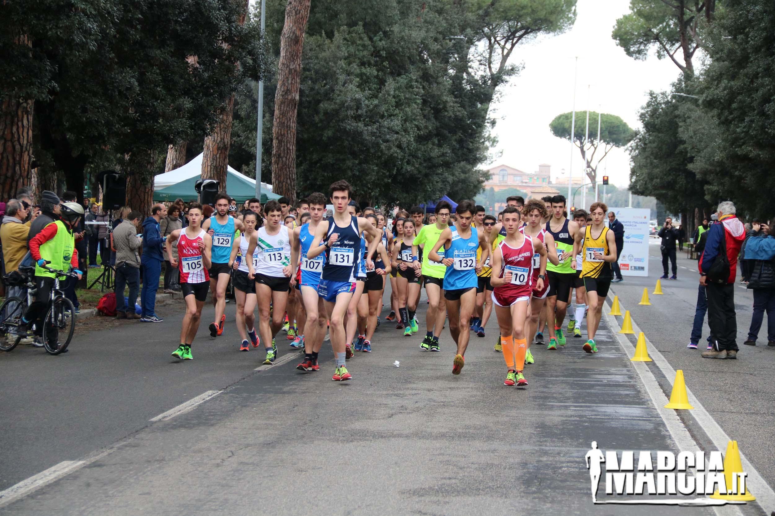 Calendario Fidal Piemonte 2020.Marcia It